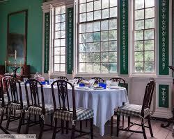 Mount Vernon Virginia USA Plantation Home Of George Washington - Mount vernon dining room