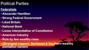 section 3 chapter 8 federalists alexander hamilton strong federal