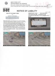 red light camera violation nyc new york city department of finance red light camera monitoring