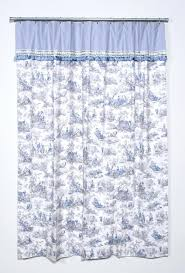 Blue Toile Curtains Blue Toile Curtains Teawing Co