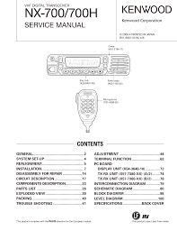 download free pdf for kenwood kt 595 radio manual