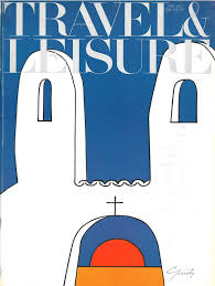 travel and leisure magazine images Robert newman 10 early 1970s travel leisure covers art jpg