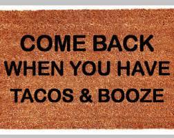 Come In And Go Away Doormat Funny Doormat Etsy