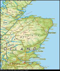 map of east uk map of east scotland uk map uk atlas