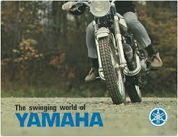 yamaha brochure yds5 yds3 yds3c ycs1 cs1 ya6 yj2 1967 1968 1966
