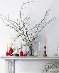 Using Branches In Home Decor decorating for easter martha stewart