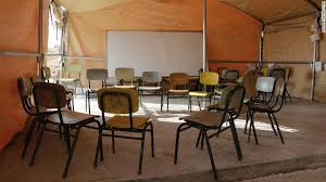 Chairs Israel Israel Demolishes Palestinian Schools Citing Lack Of Permits Cnn
