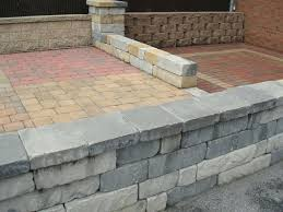 Brick Fire Pit Kit by Diy Seat Wall And Fire Pit Kit 46 Patio Door Brick Wall Build