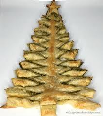 christmas tree pic recipe christmas tree puff pastry appetizer with pesto sauce