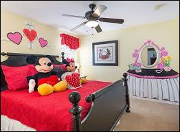 Breathtaking Red Minnie Mouse Bedroom Decor 37 With Additional