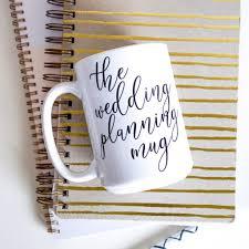 wedding planning notebook the wedding planning coffee mug lala confetti