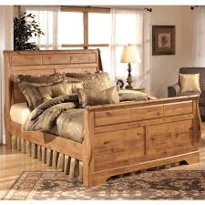 ashley furniture bittersweet queen sleigh bed in light brown ashley furniture bittersweet queen sleigh bed in light brown