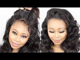tutorial for black bonded weave hairstyles how to make a frontal wig tutorial start to finish no glue