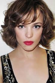 hairstyles that compliment a long face short hairstyles curly bob with bangs for long face women cute