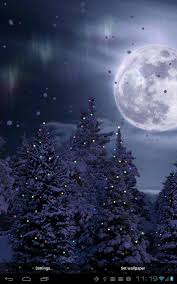 magical night wallpapers snowfall free live wallpaper android apps on google play