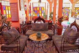 moroccan style living room furniture