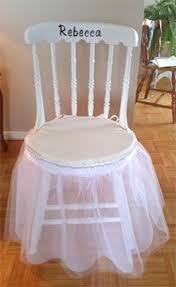 Bridal Shower Chair Bridal Shower Chair Decoration Bridal Shower Pinterest
