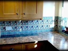 Blue Subway Tile Backsplash Mosaic Tiles Gray Backsplash Adhesive - Blue subway tile backsplash