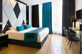 chambre noir et vert decoration salon noir blanc fushia