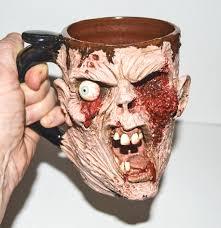 handmade monster mugs for those who like their coffee scary