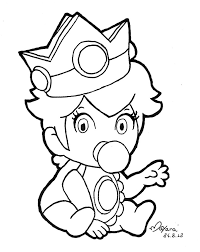 printable 19 baby mario coloring pages 5361 baby princess peach