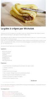 cuisine 2 michalak la pâte à crêpes par michalak wundermail cuisine