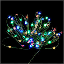 Colored Christmas Lights by Multi Colored 96 Led Invisilites Leds Christmas Lights