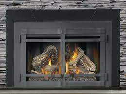 fireplace door with er new insert with modulating ceramic dual independent turn down airtight fireplace door