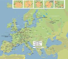 rail europe map high speed rail map of europe johomaps