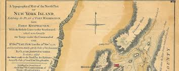 Washington New York Map by Stevenwarran Research 1777 A Topographical Map Of The Northn