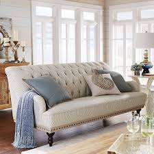 Pier One Chairs Living Room Chas Sofa Seersucker Blue Pier 1 Imports Home Pinterest
