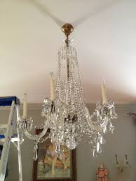 Cleaning Chandelier Crystals Chandelier Cleaning Crystal Clear Chandelier Service Metairie