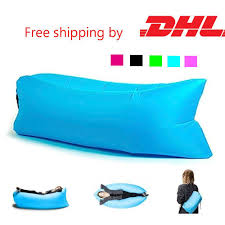 Outdoor Bean Bag Chair by 2017 Hangout Fast Inflatable Chair Lounger Air Sack Sleep Camping