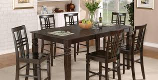 interesting counter height dining room table sets with espresso