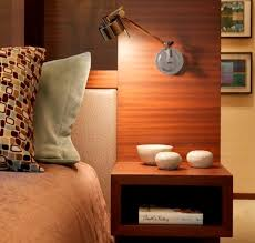light wood contemporary night stands beautifying your bedroom with a dynamic nightstand