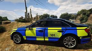 audi a4 2017 black heddlu police audi a4 quattro 2017 black welsh police skin gta5