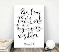 Wall Art Home Decor Printable Bible Verses Wall Art Scripture Quotes Print Black And