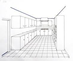 cuisine en perspective architecte d interieur cuisine 18 perspective et espacements