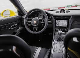 porsche 911 interior 2017 2019 porsche 911 gt3 interior changes 2018 auto review
