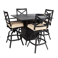high table with four chairs rustic unique round high top table and four chairs with back set