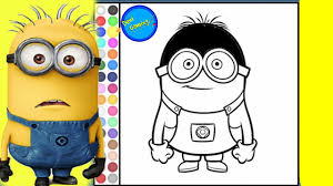 minions coloring pages from despicable me 2 coloring online game