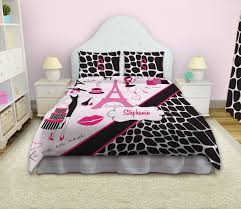 queen size bedding for girls paris duvet cover paris themed bedding fashion bedding
