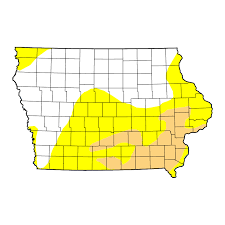 map us iowa united states drought monitor current map state drought monitor