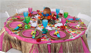 luau table centerpieces luau table decorations the outdoor luau decorations party