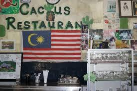 Flags Restaurant Menu The Island Drum Restaurants In Pantai Tengah Langkawi