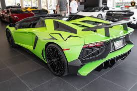 future lamborghini aventador verde ithaca 2017 lamborghini aventador sv roadster sold and delivered