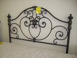 furniture luxury black queen iron headboards for luxry bedroom decor