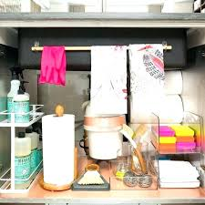 under kitchen sink storage solutions organize under bathroom sink bathroom storage solutions small space