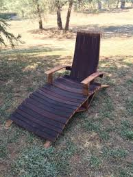 Whiskey Barrel Chairs Wine Barrel Adirondack Lounge Chair Woodworking Plans