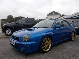 subaru sedan 2002 2002 subaru impreza wrx sti type uk 7 995